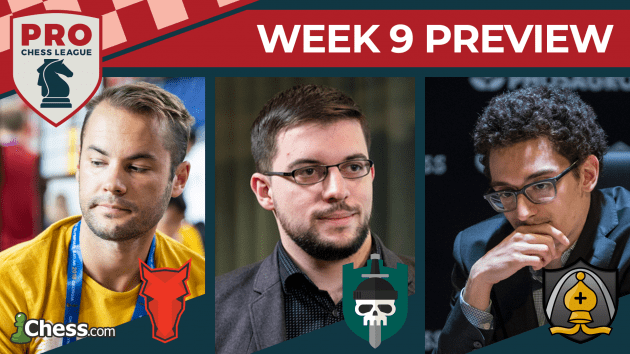 PRO Chess League Preview Week 9: Strong Performances Needed