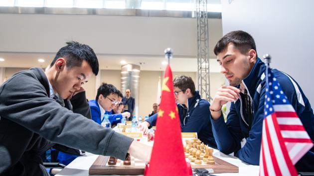 USA Upsets China At World Team Chess Championship