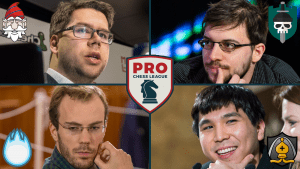 PRO Chess League Playoff Hunt Intensifies In Week 9
