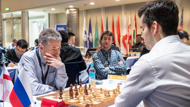 World Team Chess Championship: Englands Ties With Russia