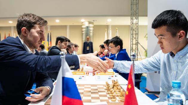 Командный чемпионат мира: сборные России лидируют в обоих зачетах
