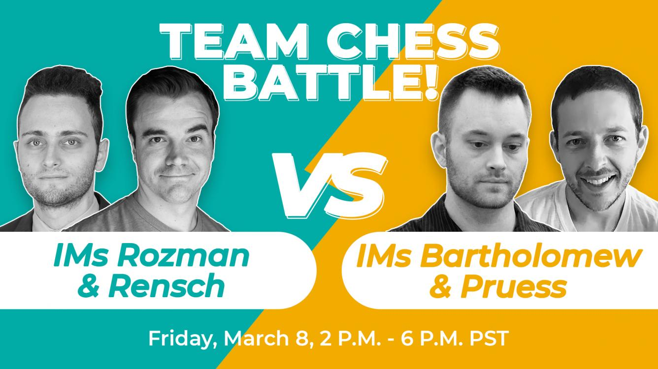 Team Chess Battle Heats Up Ahead Of Nakamura-MVL Match