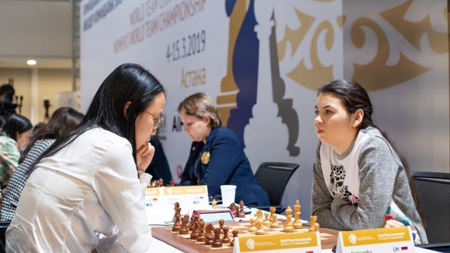 China Beats Russia At Women's World Team Chess Championship