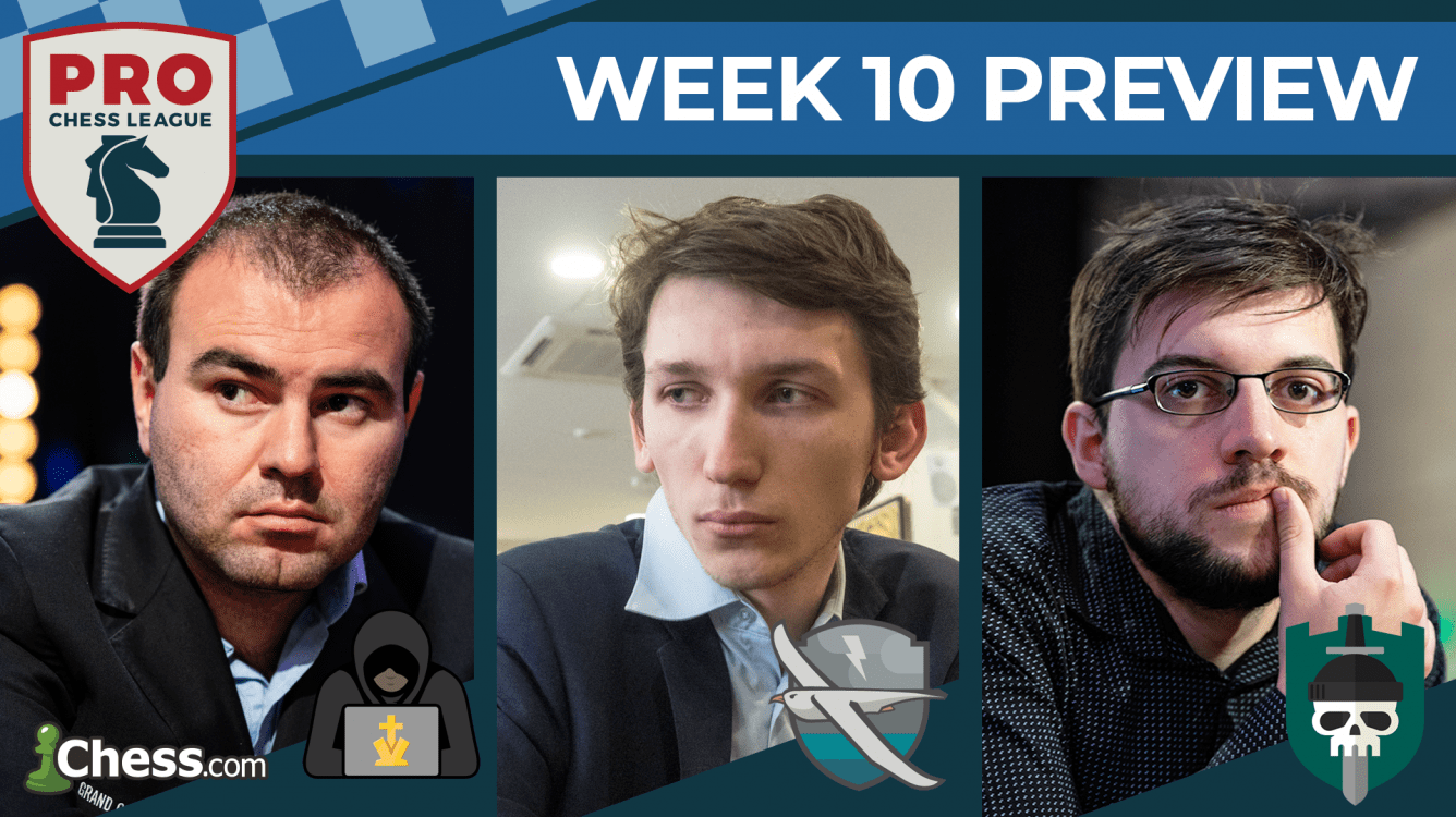 PRO Chess League Preview Week 10: All-Decisive Battles Royale