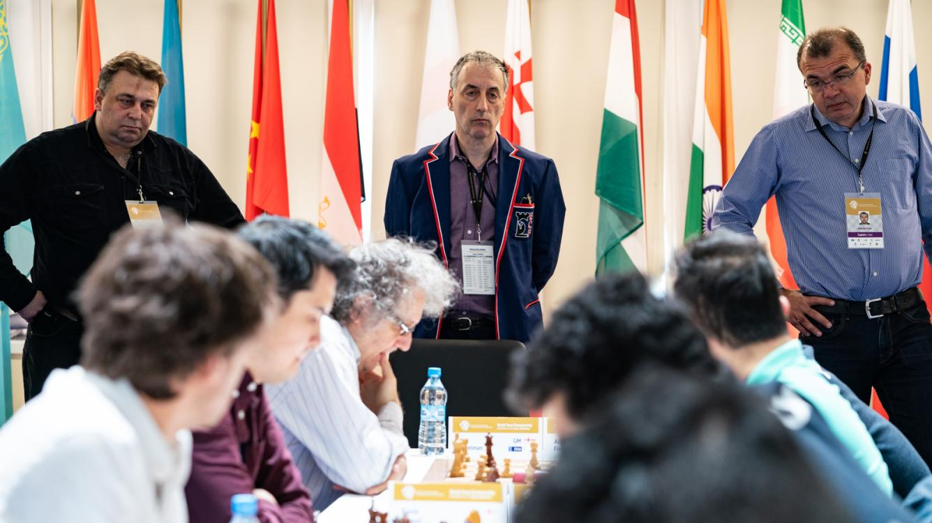 Russia Still Leads, Chased By England At World Team Chess Championship