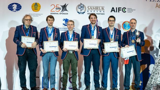 England Grabs Silver At World Team Chess Championship