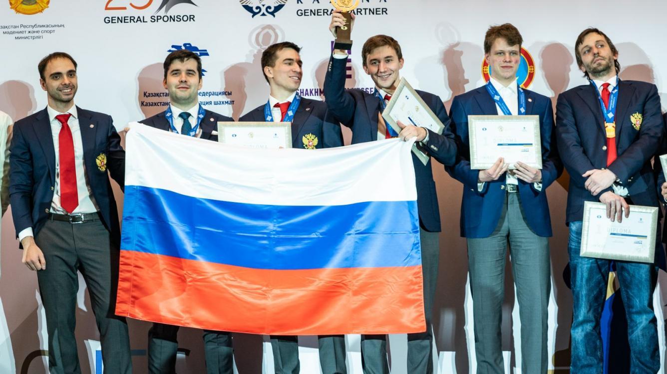 Командный чемпионат мира: Россия побеждает среди мужчин, а Китай - среди женщин
