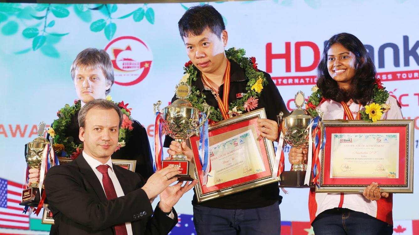 Wang Hao Wins HD Bank International Chess Masters