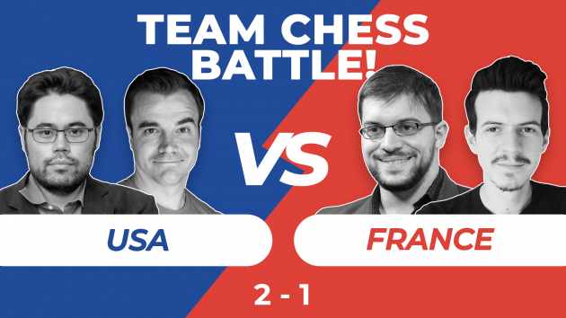 Team Chess Battle: Nakamura Thumps MVL In Grob Madness