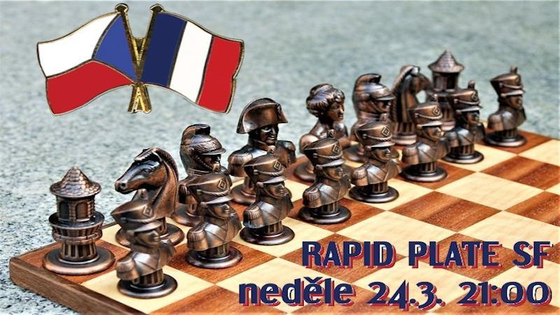 RAPID CUP jde do playoff - a my na Francouze ...