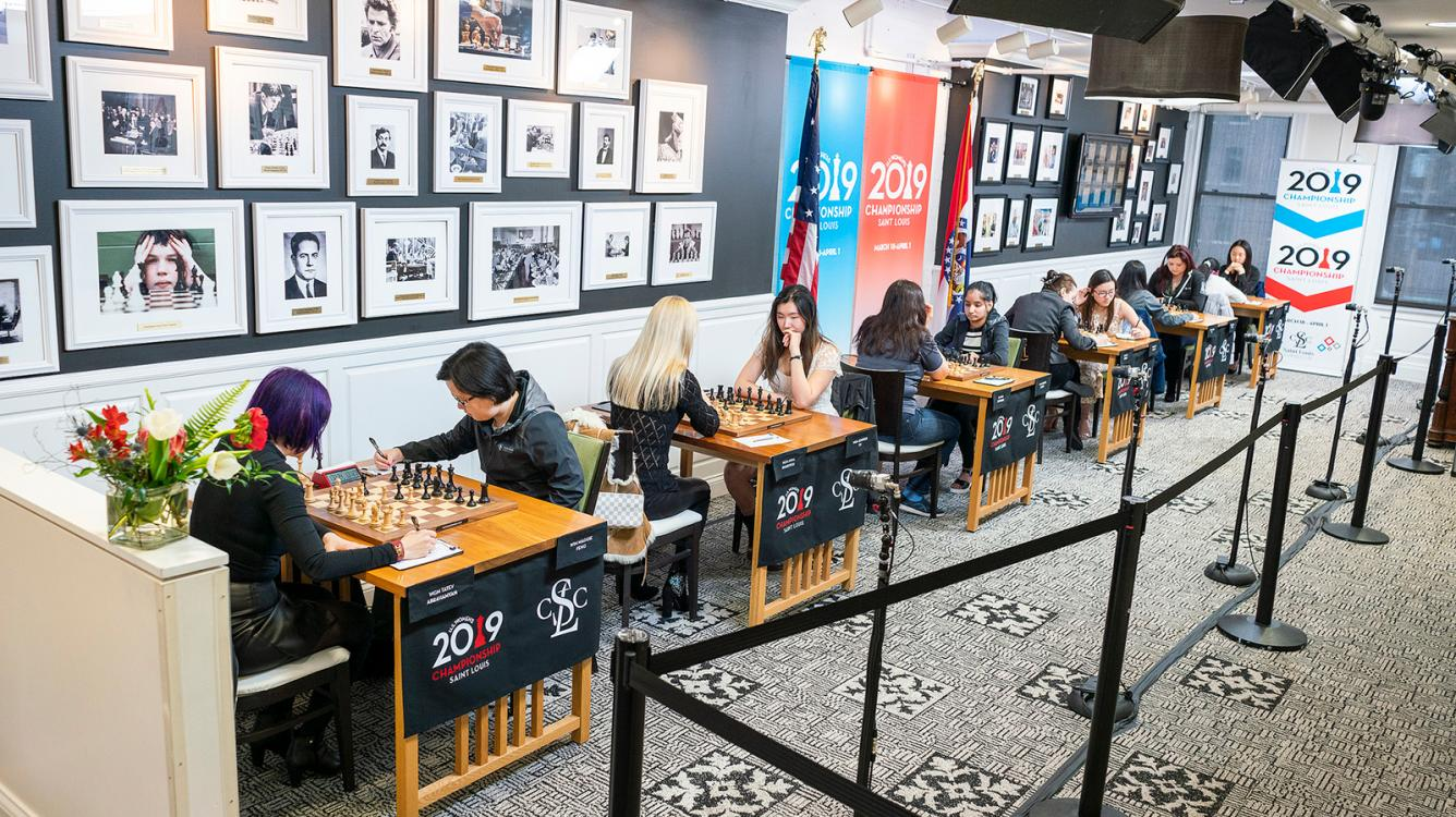U.S. Chess Championships Take Off In St. Louis