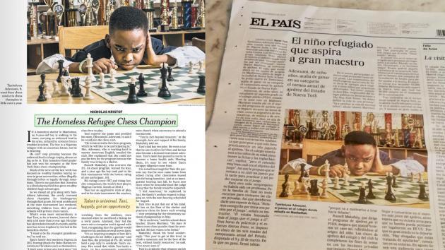 Refugiado de Oito Anos Vence New York State Championship