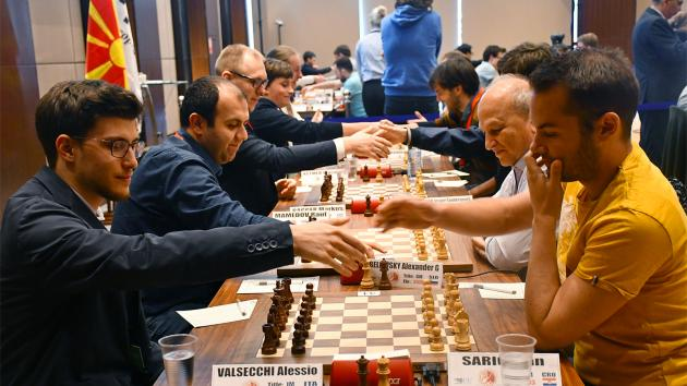 4-Way Tie At European Individual Chess Championship