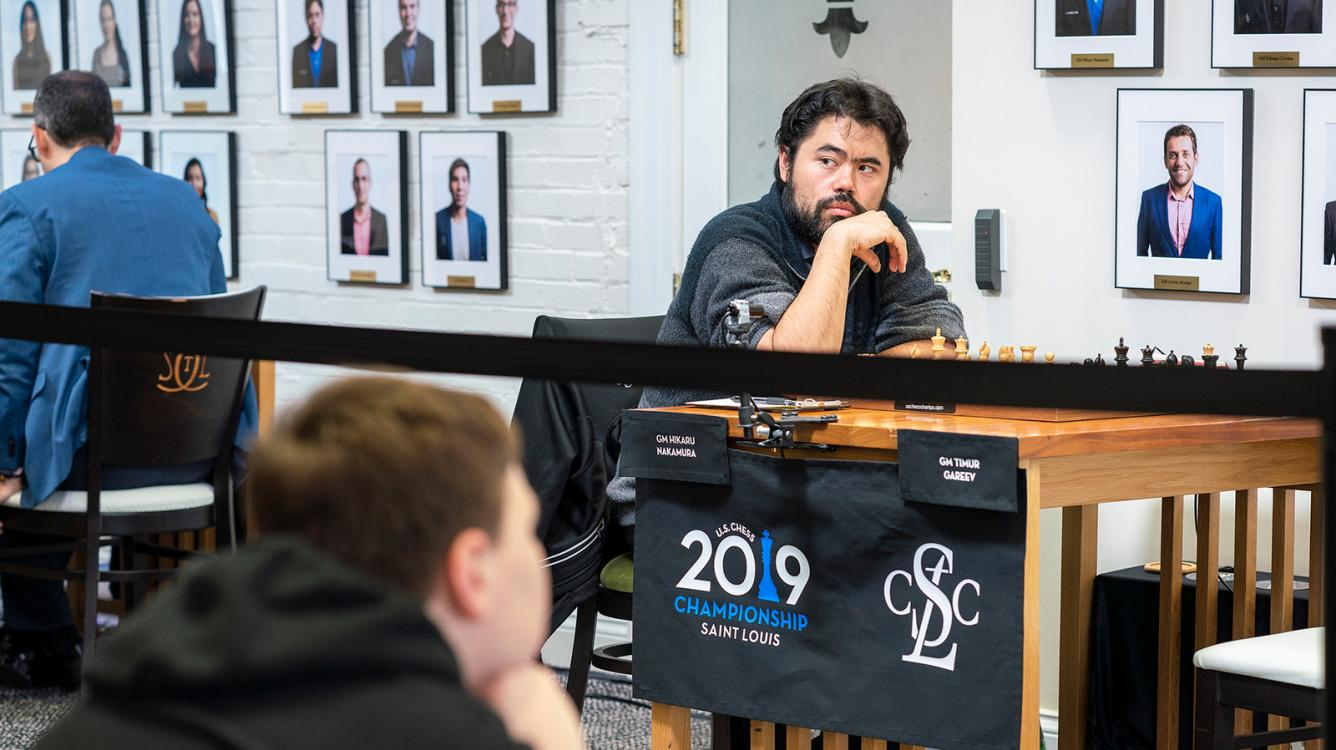 Nakamura Grabs Sole Lead At U.S. Chess Championship