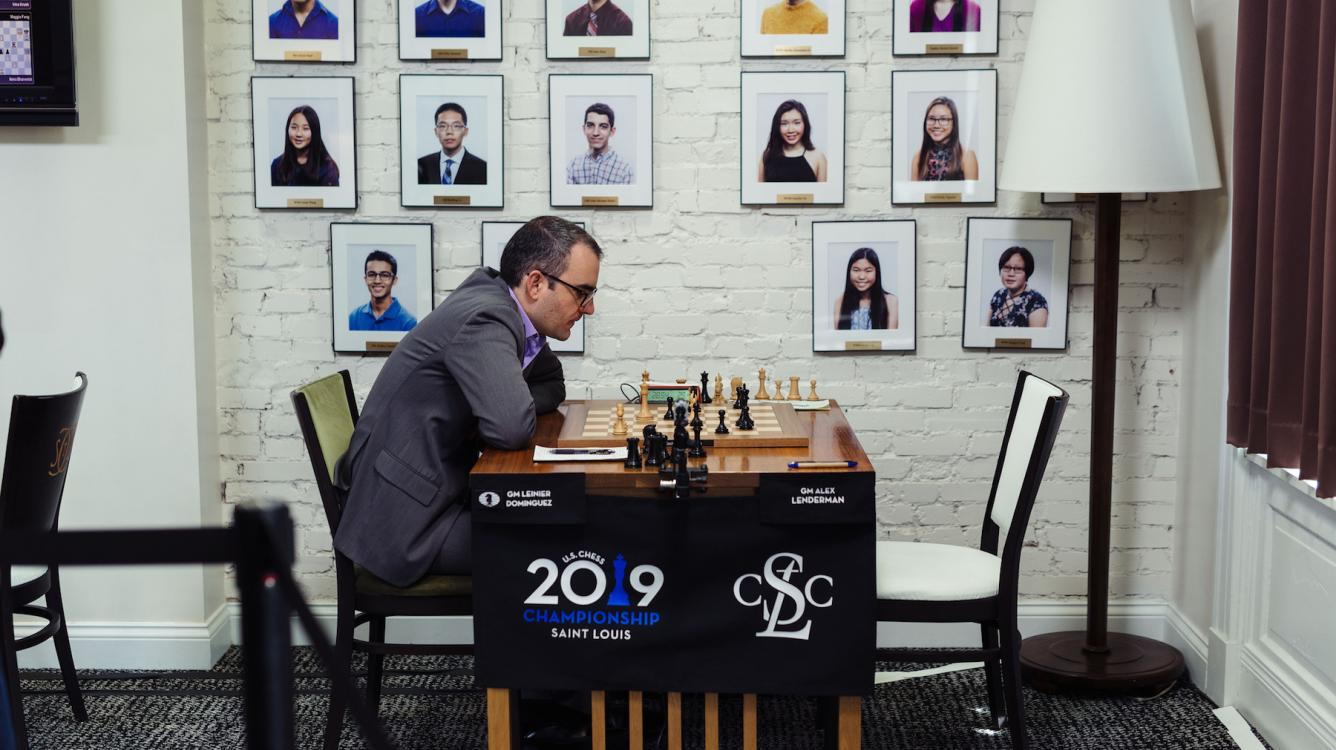U.S. Chess Championship: Dominguez Wins To Tie Nakamura In Lead