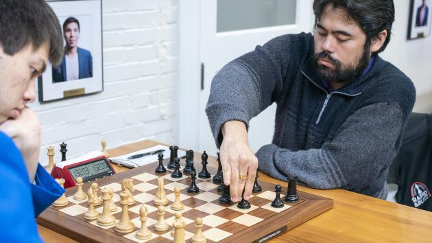 U.S. Chess Championship: All Leaders Win Again; Women Down To 2