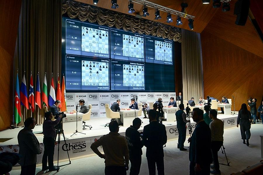 Gashimov Memorial Starts With 5 Draws As Anand Misses Brilliant Defense