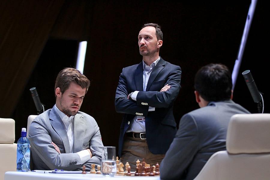 Gashimov Memorial: Carlsen, Ding, Karjakin Open Score