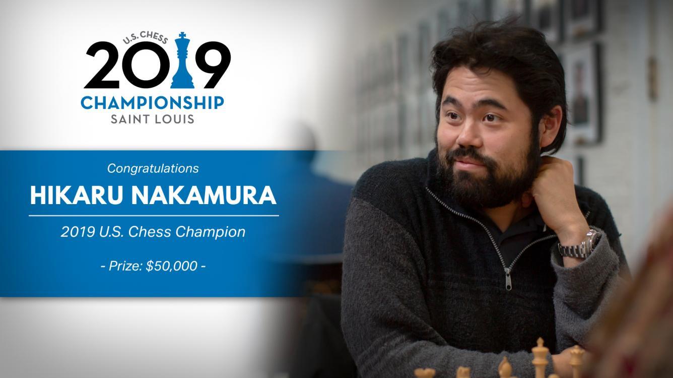 Nakamura gana el campeonato de Estados Unidos por 5ª vez