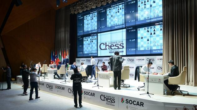 Gashimov Memorial: Carlsen Leading, Anand Shared 2nd