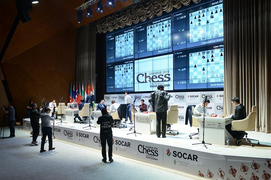 Gashimov Memorial: Carlsen Leading, Anand Shared 2nd