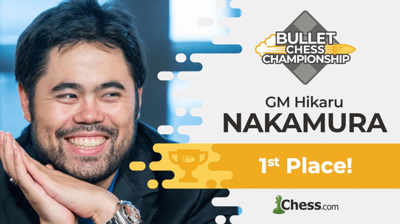 Накамура становится чемпионом Chess.com по игре в пулю