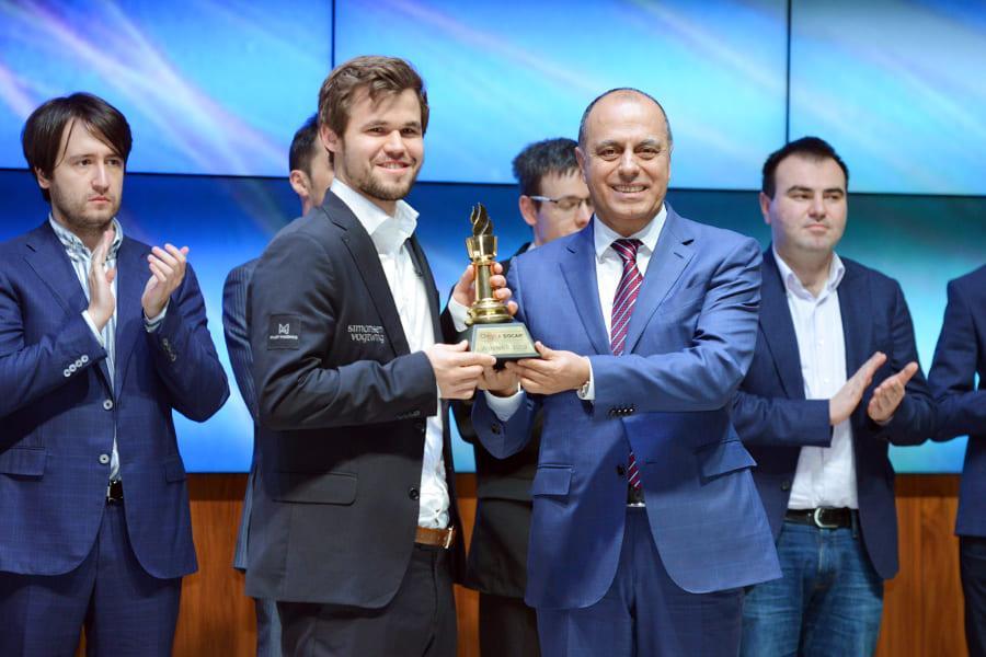 Carlsen Wraps Up Gashimov Memorial With 'Stellar Performance'