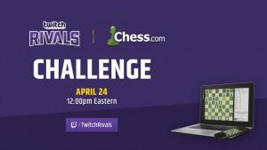 Шахматисты-стримеры сразятся с Королевским Комодо в турнире Twitch Rivals