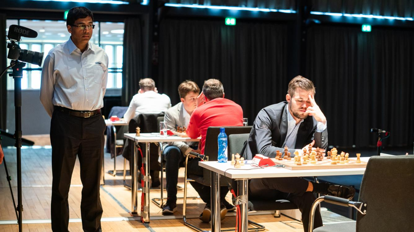 Anand, Carlsen Lead After Grenke Chess Classic Round 4