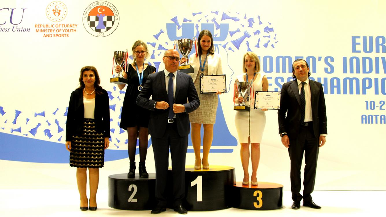 Kashlinskaya Wins European Women's Chess Championship