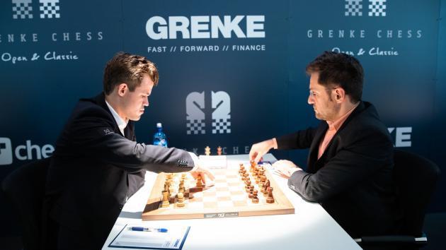 Grenke, Runde 7: Carlsen spielt beängstigend gut und siegt weiter