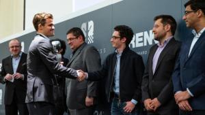 Carlsen Vence Grenke Chess Classic, Alcança 2875 de Rating