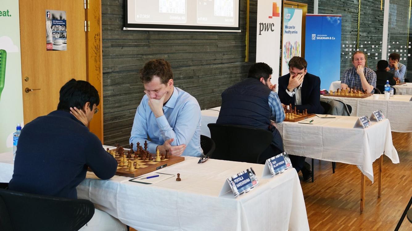 Gawain Jones Leads As Tepe Sigeman & Co Chess Tournament Takes Off