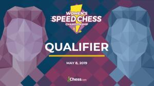 Am 8. Mai startet die Qualifikation zur Damen-Speed Chess Championship
