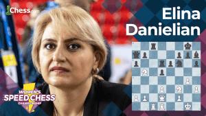 Elina Danielian Wins Women's Speed Chess Qualifier