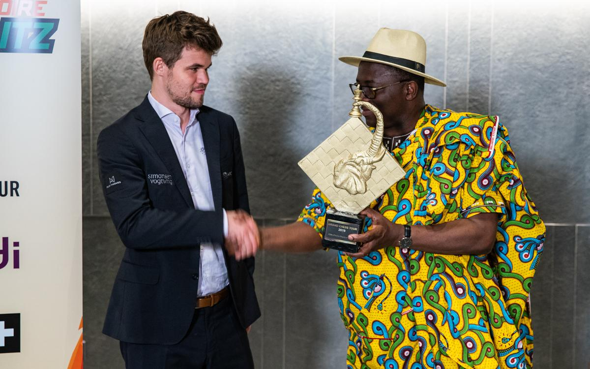 Carlsen Wins Côte d'Ivoire Rapid & Blitz
