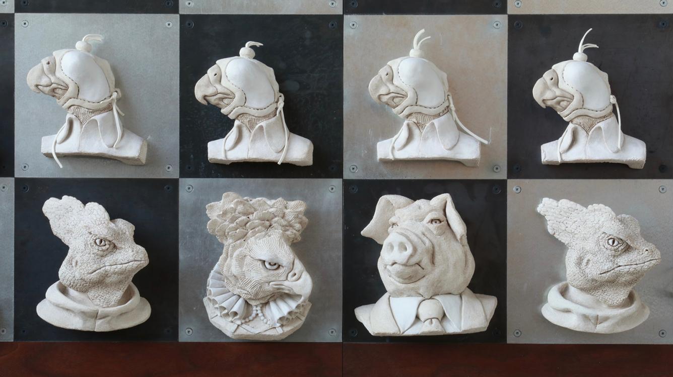 Animal Farm On The Chess Board