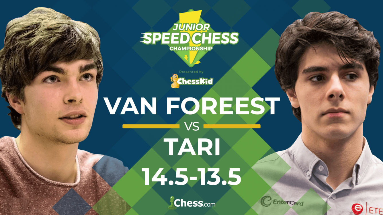Van Foreest Beats Tari In Last Game Of Match