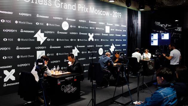 Grischuk, Nepomniachtchi, Nakamura Advance In FIDE Grand Prix
