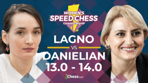 Danielian Upsets Lagno In Women's Speed Chess Opener