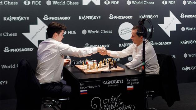 Nepomniachtchi Beats Wojtaszek To Reach FIDE Grand Prix Final
