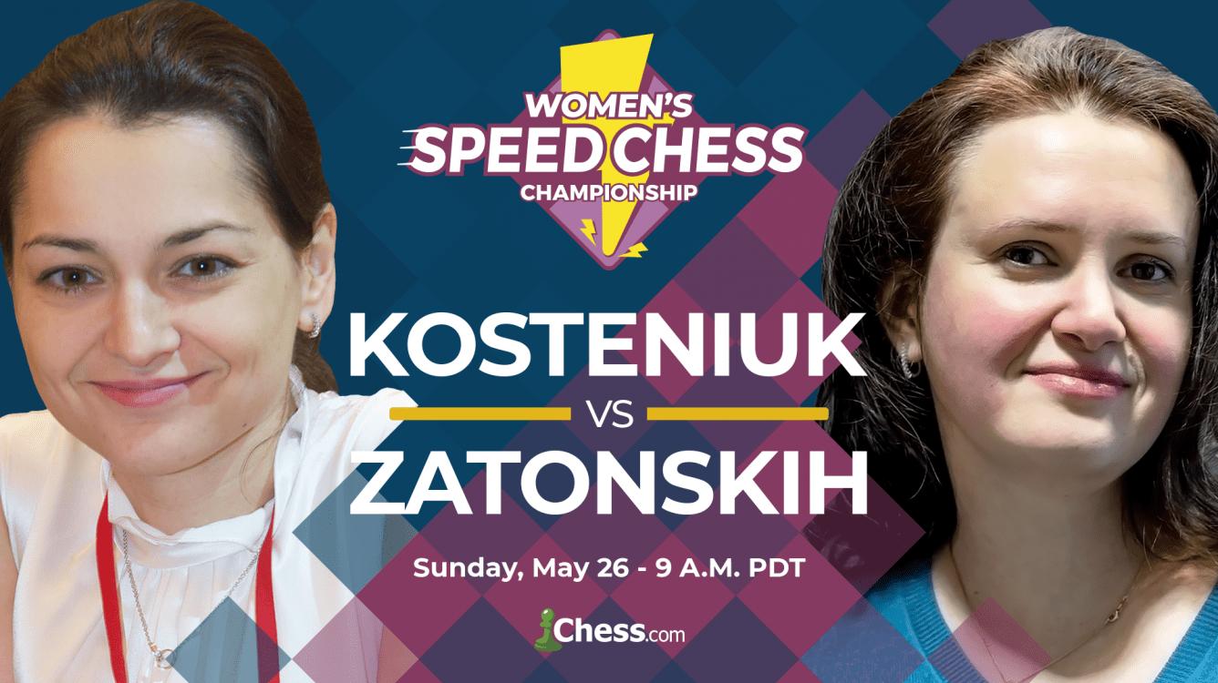 Women's Speed Chess Championship Match Kosteniuk-Zatonskih Preview