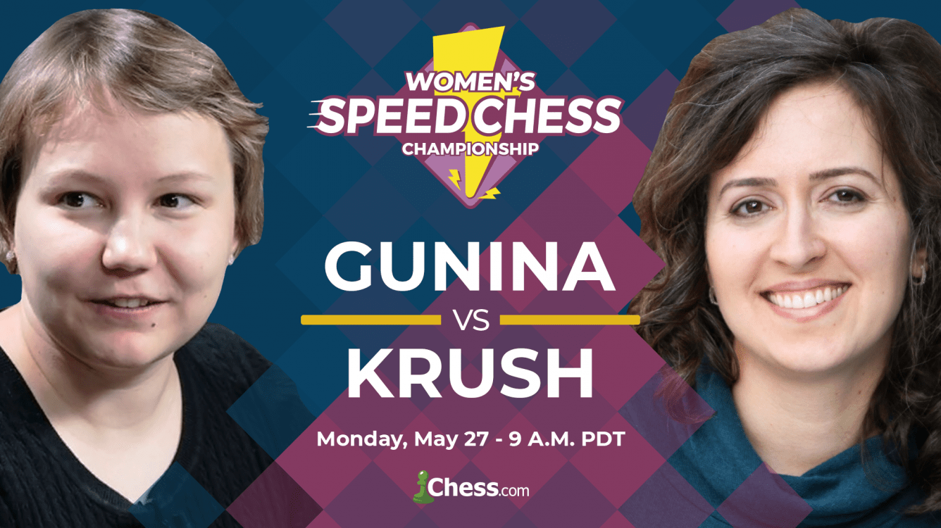 Today: Women's Speed Chess Championship Match Gunina-Krush
