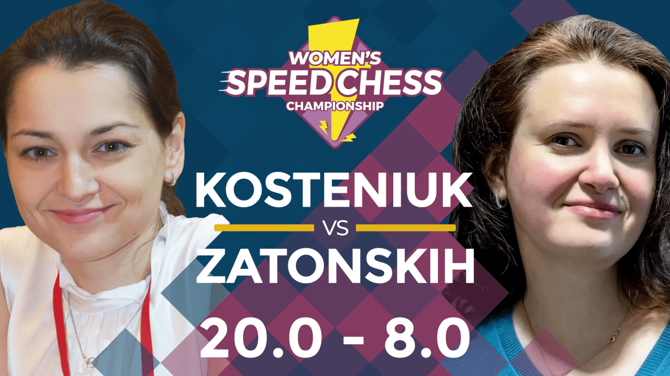 Women's Speed Chess: Kosteniuk Too Strong For Zatonskih