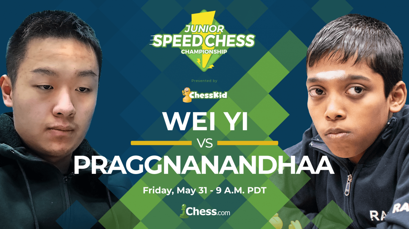 Junior Speed Chess: Wei Yi vs. Praggnanandhaa Preview