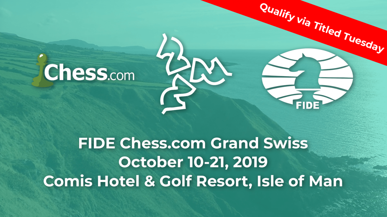 FIDE Chess.com Grand Swiss Announced; Titled Players Can Qualify