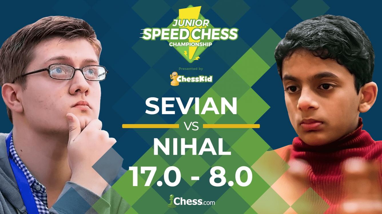 Junior Speed Chess: Sevian Beats Nihal To Face Firouzja Next