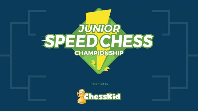 Campeonato Junior de Xadrez Rápido em Parceria com ChessKid