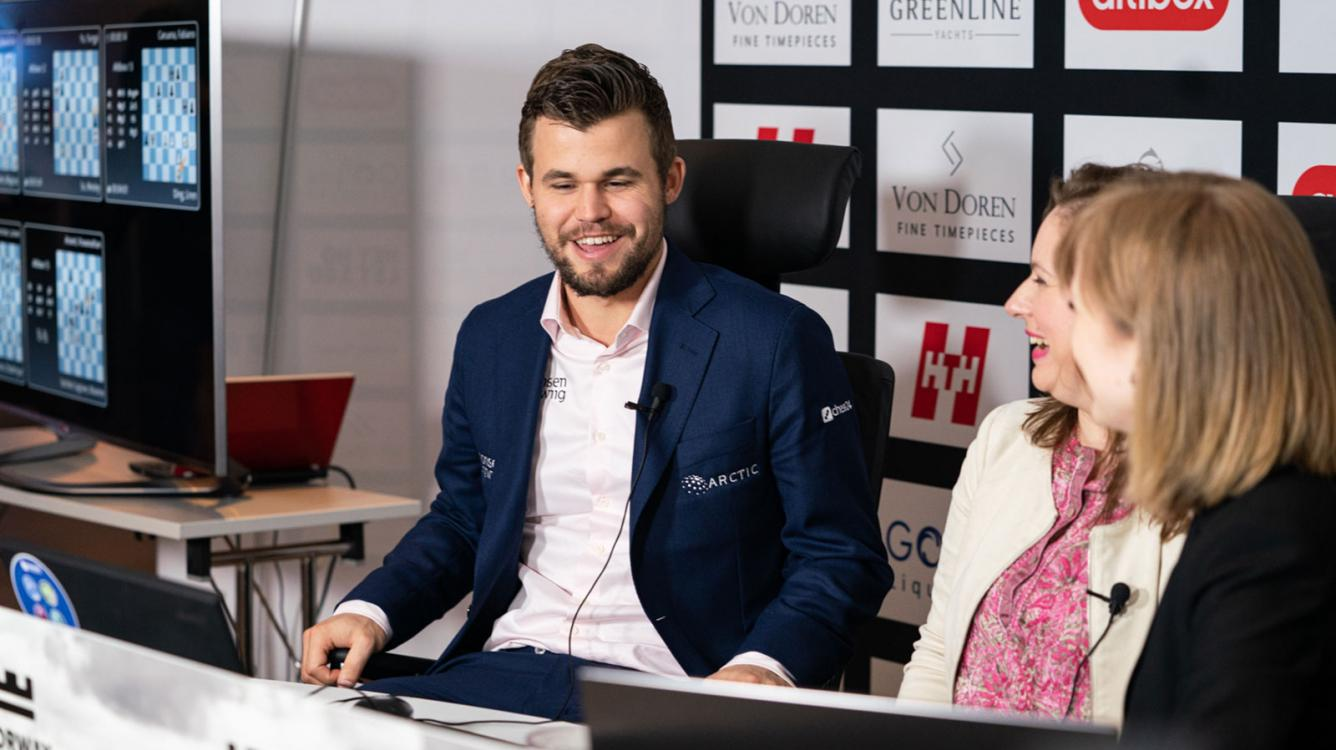Carlsen Surges To The Top In Norway Chess Round 3
