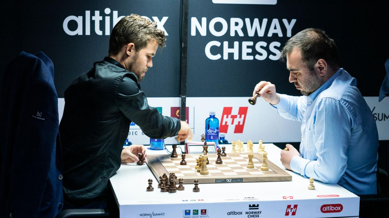 Carlsen Maintains Lead In Enthralling Round 4 Norway Chess